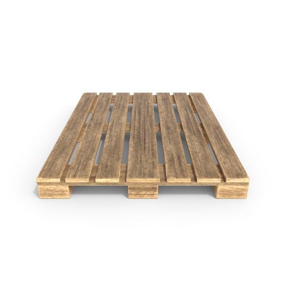 Wooden Pallet 2 - 3DOcean Item for Sale