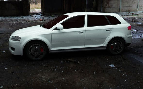 Audi A3 Sportback 2004 - 3DOcean Item for Sale