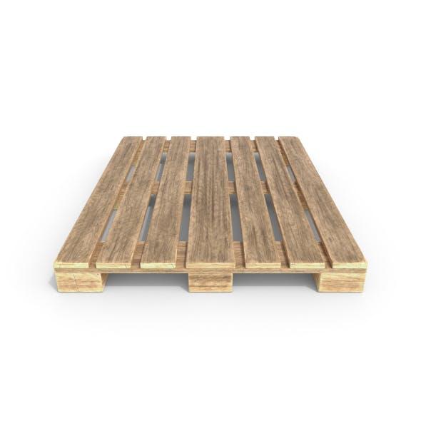 Wooden Pallet 3 - 3DOcean Item for Sale
