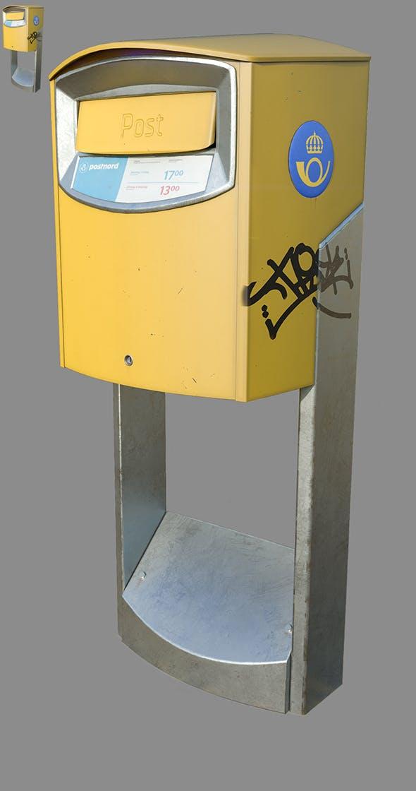 Postnord Mailbox - 3DOcean Item for Sale