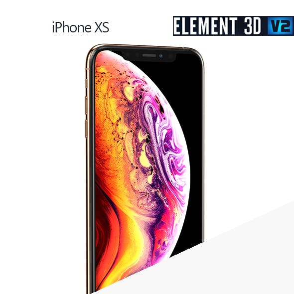 Apple iPhone XS - Element 3D