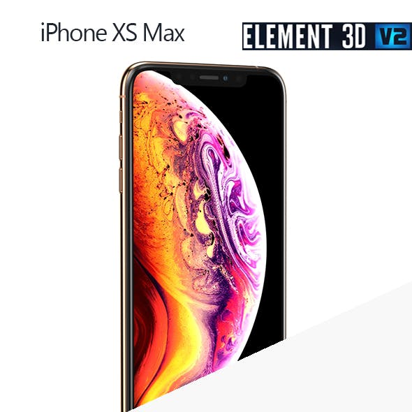 Apple iPhone XS Max - Element 3D