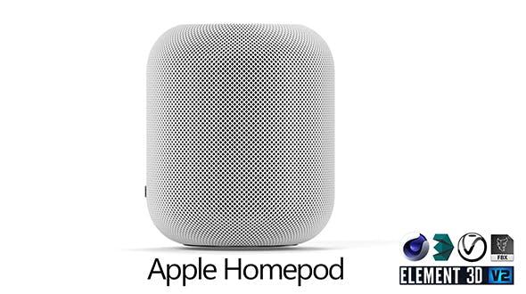 Apple Homepod - 3DOcean Item for Sale