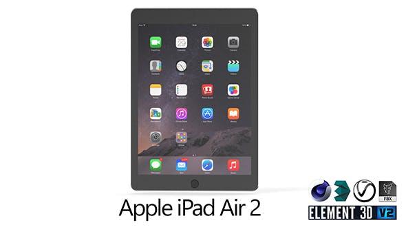 Apple iPad Air 2 - 3DOcean Item for Sale