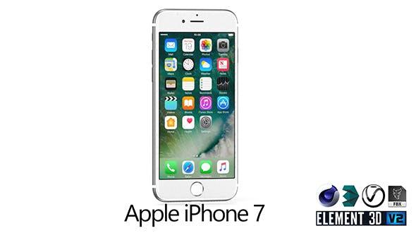 Apple iPhone 7 - 3DOcean Item for Sale