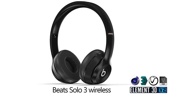 Beats Solo 3 wireless - 3DOcean Item for Sale