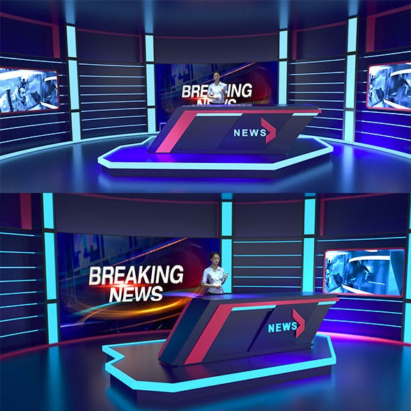 NEWS 24 STUDIO - 3DOcean Item for Sale