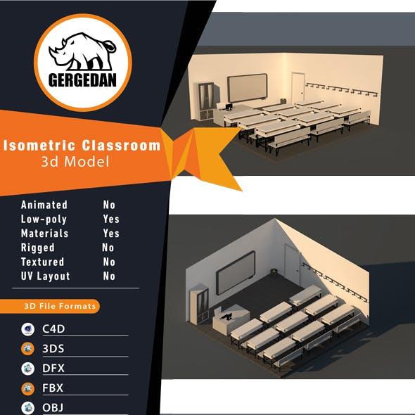 Isometric Classroom