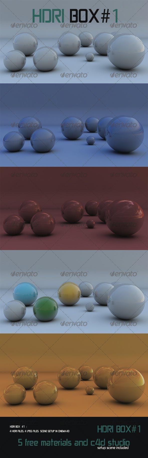 HDRI Box # 1 - 4 HDRI´S   - 3DOcean Item for Sale
