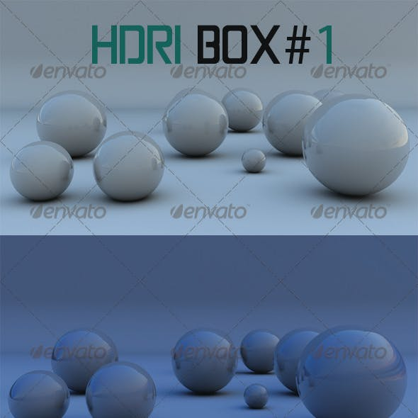 HDRI Box # 1 - 4 HDRI´S
