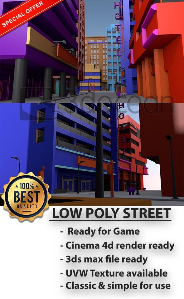STREET SCENE - 3DOcean Item for Sale