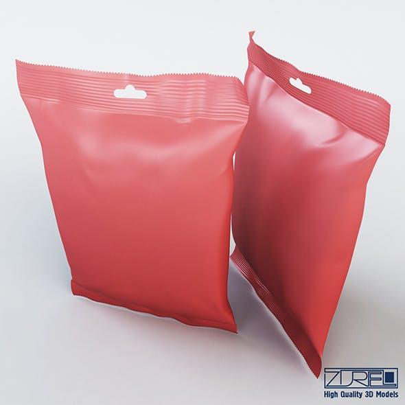 Food packaging 100 grams - 3DOcean Item for Sale