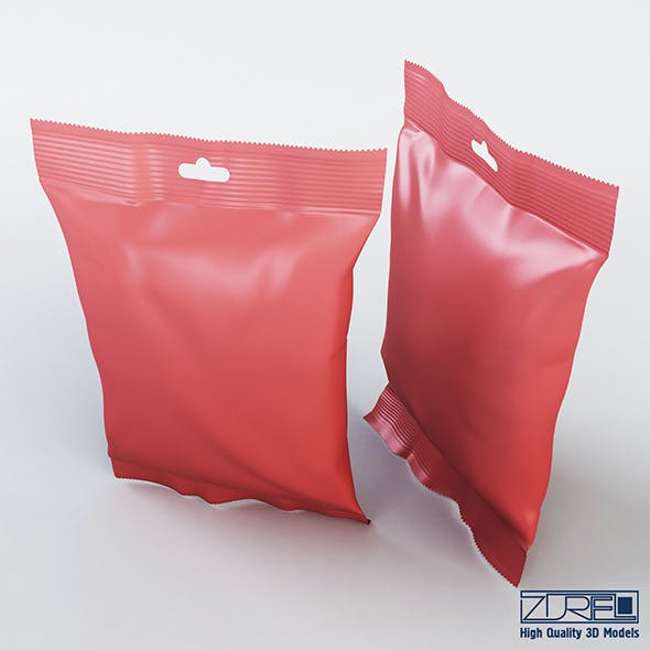 Food packaging 50 grams - 3DOcean Item for Sale