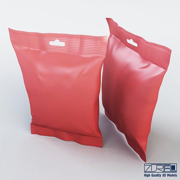 Food packaging 50 grams v 2 - 3DOcean Item for Sale
