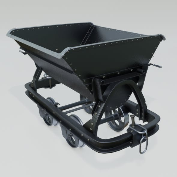 Mining Cart - 3DOcean Item for Sale