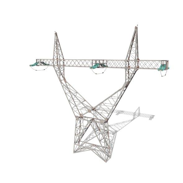 Electricity Pole 4 - 3DOcean Item for Sale