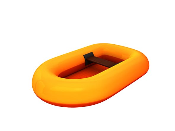 Rubber Raft - 3DOcean Item for Sale