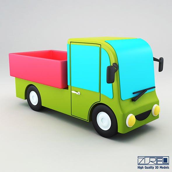 Truck v 1 - 3DOcean Item for Sale