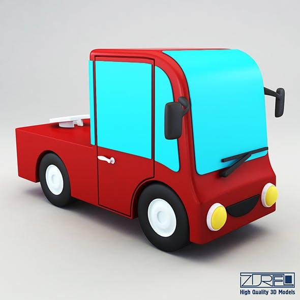 Truck v 2 - 3DOcean Item for Sale