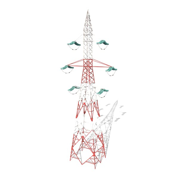 Electricity Pole 8 - 3DOcean Item for Sale