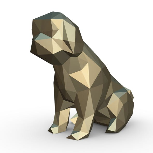 Shih tzu figure - 3DOcean Item for Sale