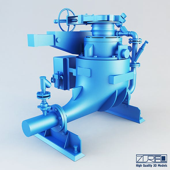 Ash vessel GA pump - 3DOcean Item for Sale