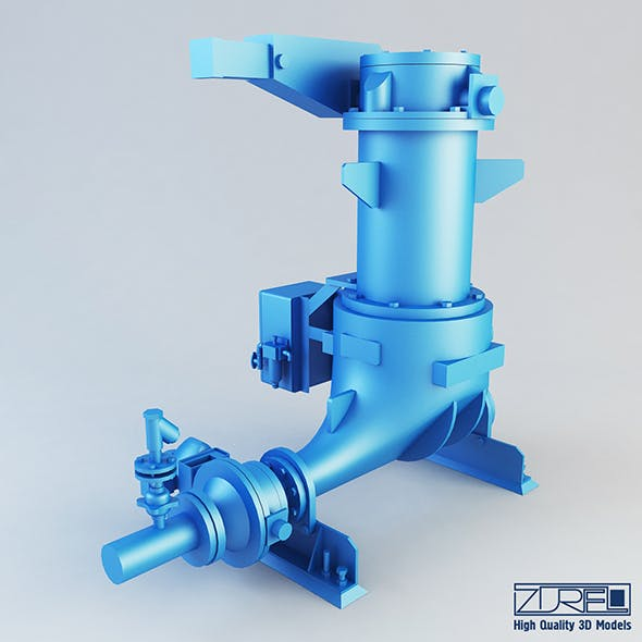 Ash vessel HA pump - 3DOcean Item for Sale