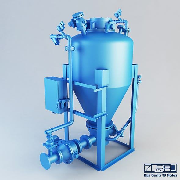 Outlet conical pump - 3DOcean Item for Sale