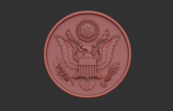United State of America Great Seal - 3DOcean Item for Sale