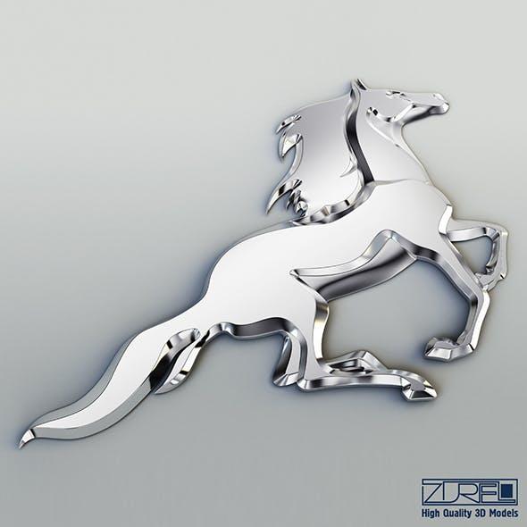 Chrome horse v 1 - 3DOcean Item for Sale