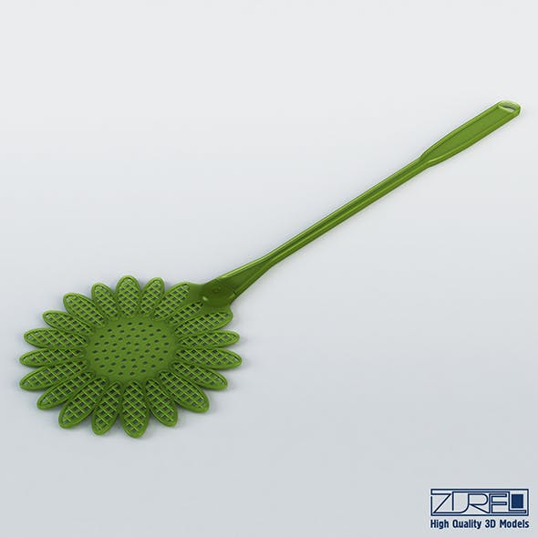 Mosquitall fly swatter - 3DOcean Item for Sale