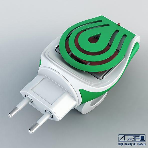 Mosquitall fumigator green - 3DOcean Item for Sale