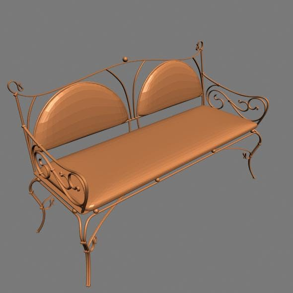 3D sofa 3 seeater - 3DOcean Item for Sale
