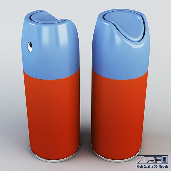Spray can - 3DOcean Item for Sale