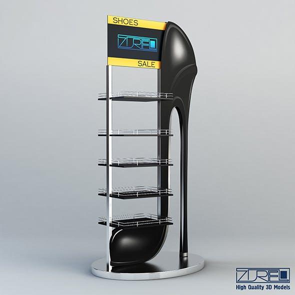 Rack shoes v 1 - 3DOcean Item for Sale
