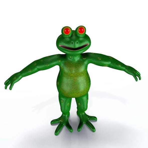Cartoon Frog - 3DOcean Item for Sale