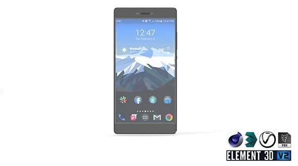 Huawei Ascend P8 - Element 3D - 3DOcean Item for Sale