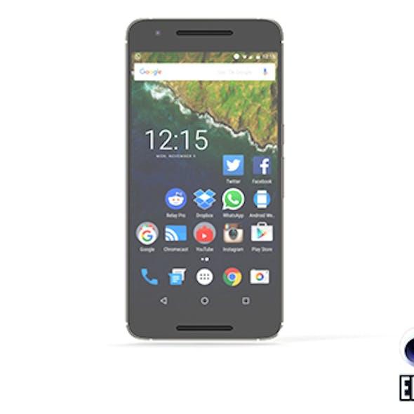 Huawei Nexus 6P - Element 3D