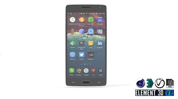OnePlus Two - Element 3D - 3DOcean Item for Sale