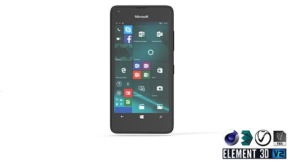 Microsoft Lumia 550 - Element 3D - 3DOcean Item for Sale