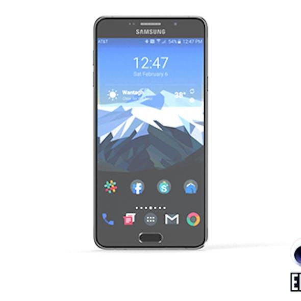 Samsung Galaxy A7 - Element 3D