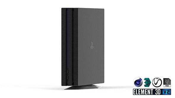 Sony Playstation 4 Pro - Element 3D - 3DOcean Item for Sale