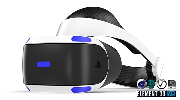 Sony Playstation VR - Element 3D - 3DOcean Item for Sale