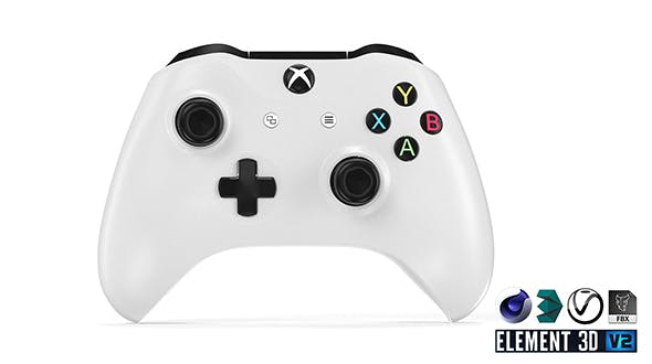XBOX One S Gamepad - Element 3D - 3DOcean Item for Sale