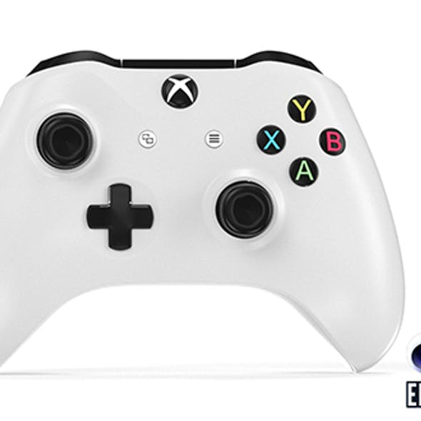 XBOX One S Gamepad - Element 3D