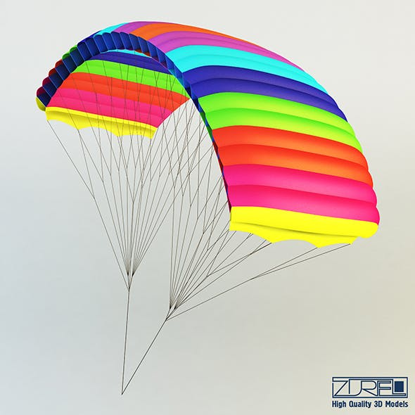 Paraglider v 1 - 3DOcean Item for Sale