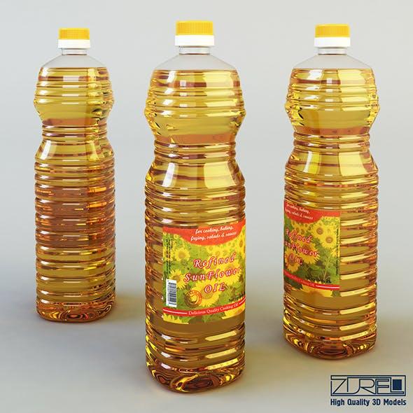 Oil bottle 2 liter - 3DOcean Item for Sale