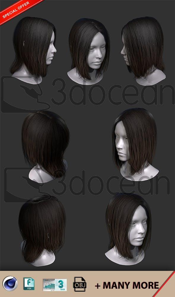 Hair - 3DOcean Item for Sale