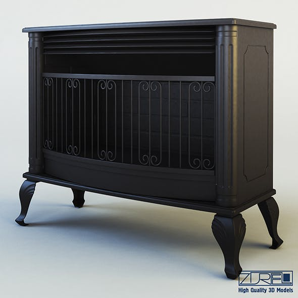 Mirage fireplace - 3DOcean Item for Sale