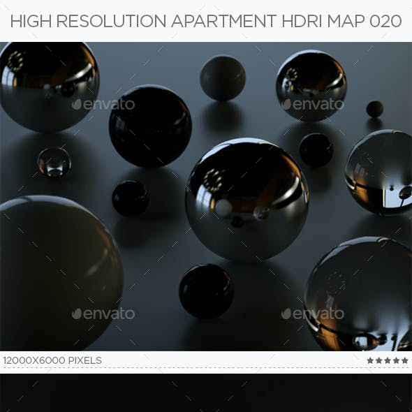 High Resolution Apartment HDRi Map 020